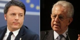 IL CONTRASTO TRA RENZI E MONTI E LE DINAMICHE ECONOMICHE EUROPEE E MONDIALI