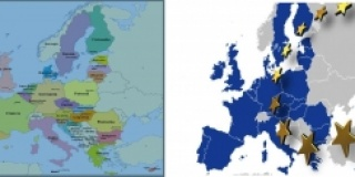 LA DIFFERENZA TRA LE DUE MAPPE DELL'EUROPA
